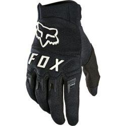 FOX Dirtpaw cross kesztyű - fekete/fehér