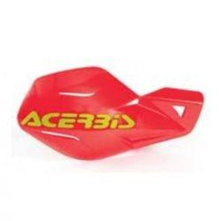Acerbis kézvédő - MX Uniko - teljes készlet - piros/sárga