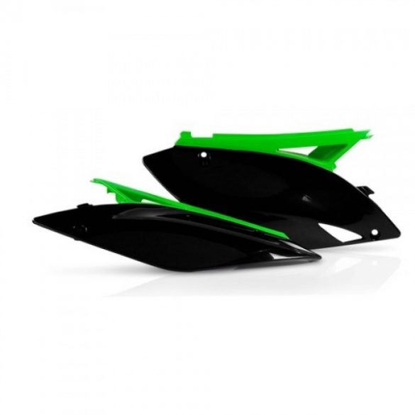 Acerbis oldalidom -  KAWASAKI KXF 250 09-12 + 450 09-11 - fekete/zöld