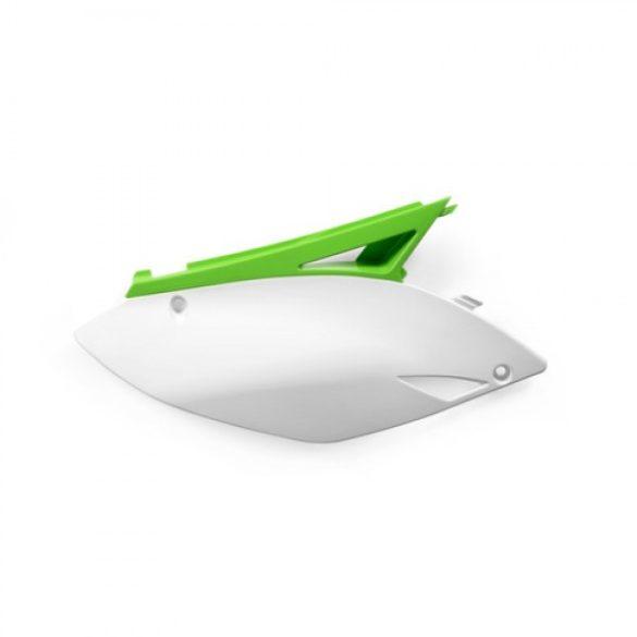 Acerbis oldalidom -  KAWASAKI KXF 250 09-12 + 450 09-11 - zöld/fehér