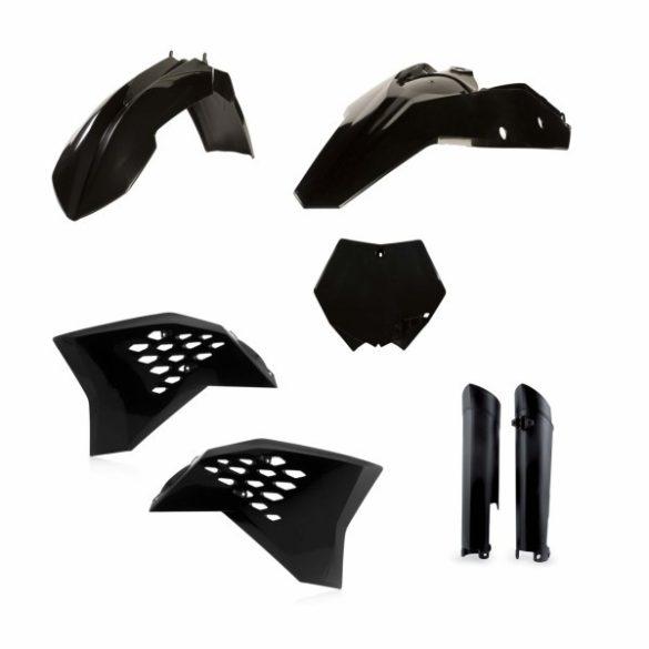 Acerbis teljes idomszett -  KTM SX-F 07-10 - fekete