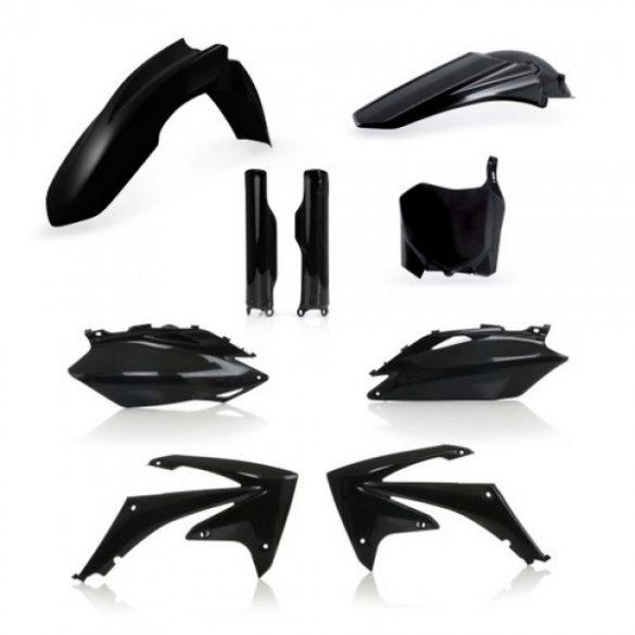 Acerbis teljes idomszett -  HONDA CRF250 10 + CRF450 09-10 - fekete