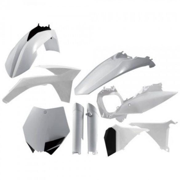 Acerbis teljes idomszett -  KTM SX 2011 - fehér
