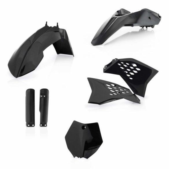 Acerbis teljes idomszett -  KTM SX65 09-12 - fekete