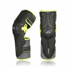 Acerbis térdvédő - X-Strong - fekete/sárga - egy méretű