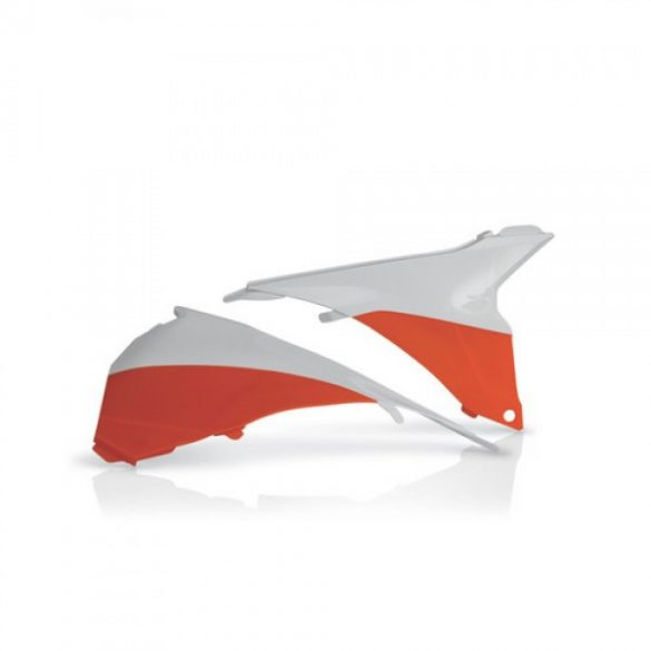 Acerbis légszűrő idom -  KTM SX/SXF 13-15 - narancs/fehér