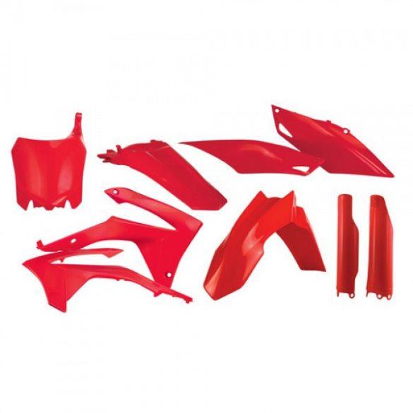 Acerbis teljes idomszett -  HONDA CRF25 14-17 + CRF450 13-16 - piros