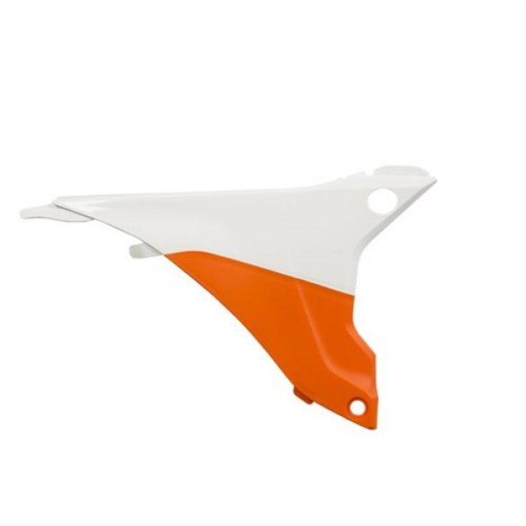 Acerbis légszűrő idom -  KTM EXC/EXC-F 14-16 - narancs/fehér