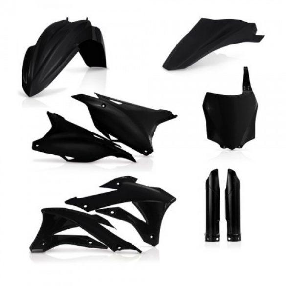 Acerbis teljes idomszett -  KAWA 85/100 14/20 - fekete