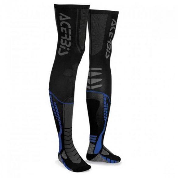 Acerbis cross zokni - X-Leg Pro - fekete/kék
