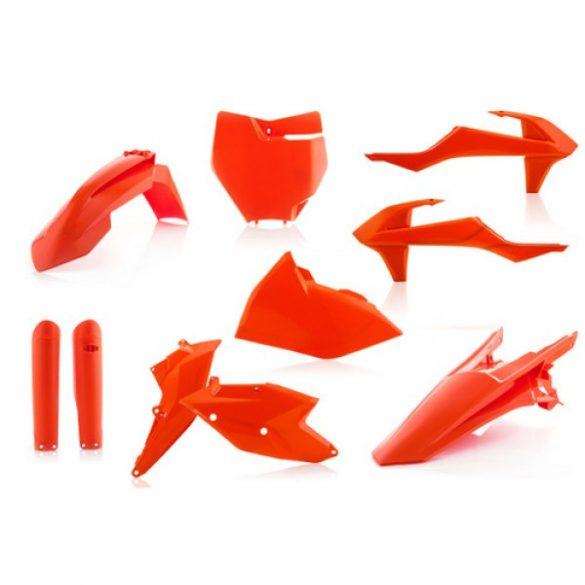 Acerbis teljes idomszett -  KTM SX/SXF 16-18 - FLO narancs
