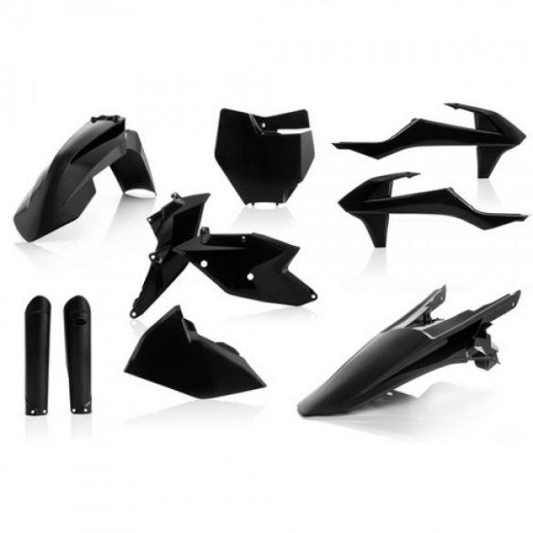 Acerbis teljes idomszett -  KTM SX/SXF 16-18 - fekete