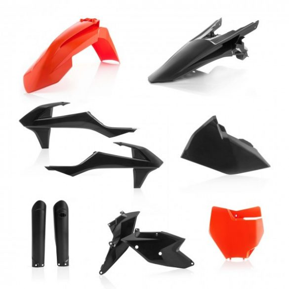 Acerbis teljes idomszett -  KTM SX/SXF 16-18 - fekete/narancs