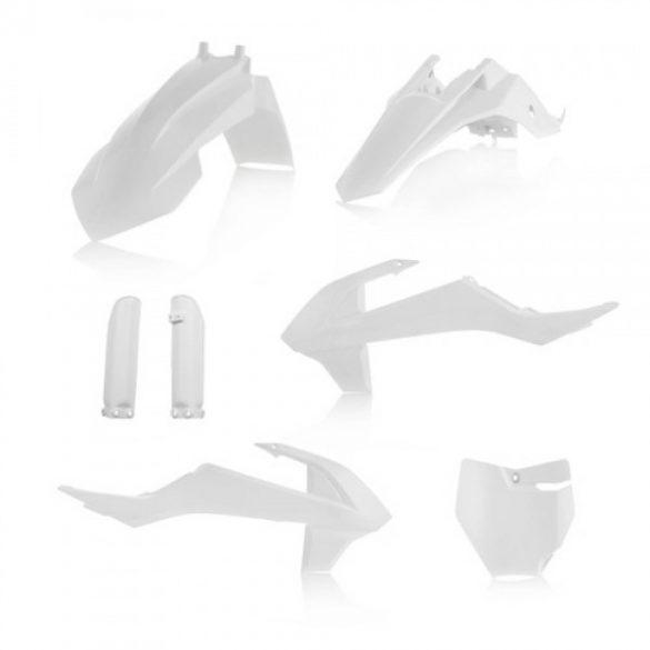 Acerbis teljes idomszett -  KTM SX 65 16/18 - fehér