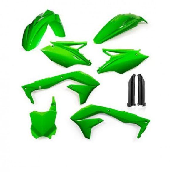 Acerbis teljes idomszett -  KAWASAKI KXF 450 16-17 - FLO zöld
