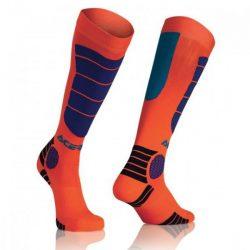 Acerbis gyerek cross zokni - MX Impact Junior - narancs/kék