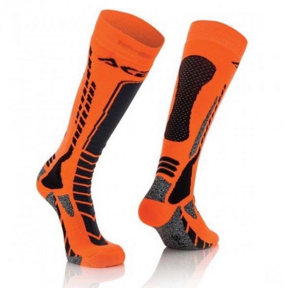 Acerbis cross zokni - MX Pro - fekete/narancs