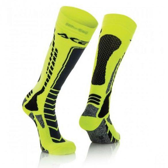 Acerbis cross zokni - MX Pro - fekete/sárga