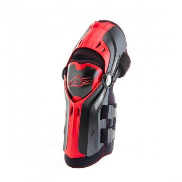 Acerbis térdvédő - Gorilla - fekete/piros - egy méretű