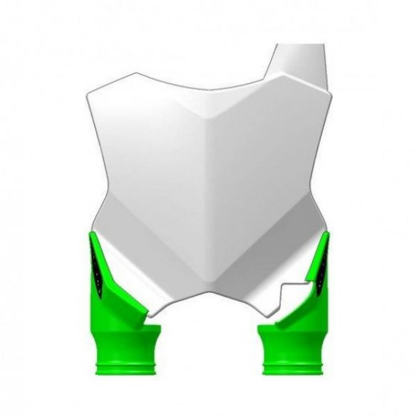 Acerbis fejidom - Raptor KAWASAKI KXF250 17-18 + KXF 450 16-18 - fehér/zöld
