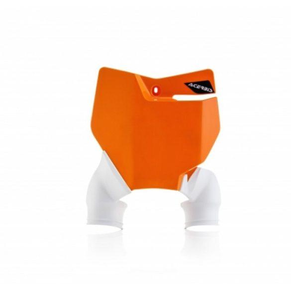 Acerbis fejidom - Raptor KTM 16-18 - narancs/fehér