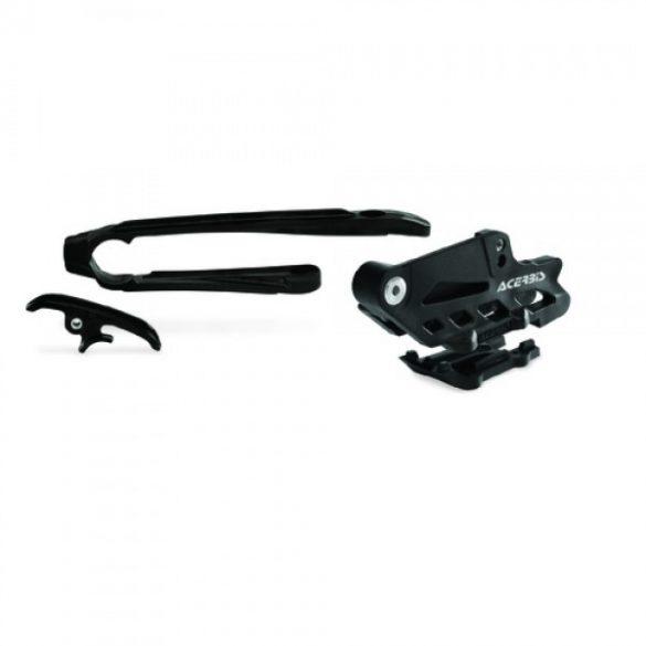 Acerbis láncvezető szett -  EXC/EXCF17 - fekete