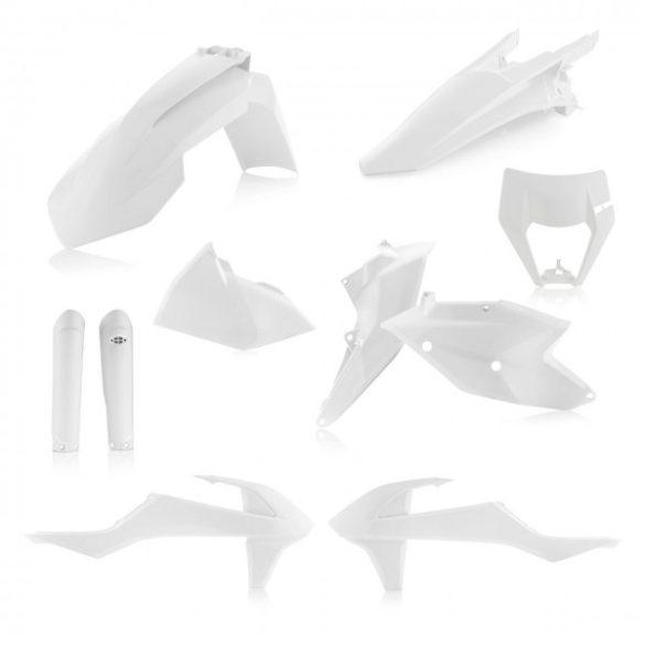 Acerbis teljes idomszett - KTM EXC/EXC-F 17/19 - fehér