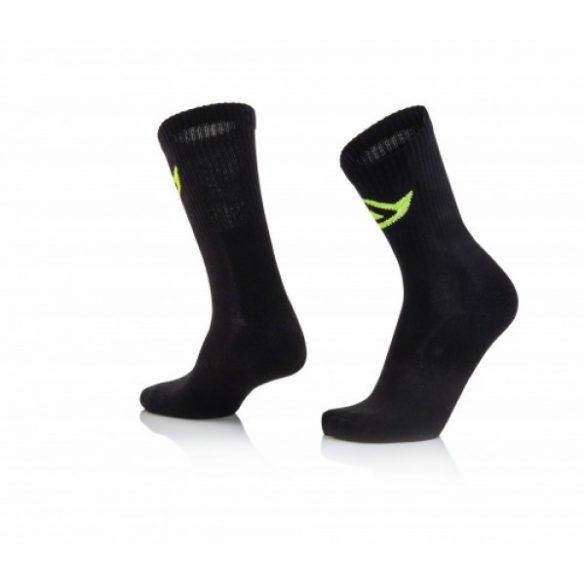 Acerbis pamut cross zokni - fekete