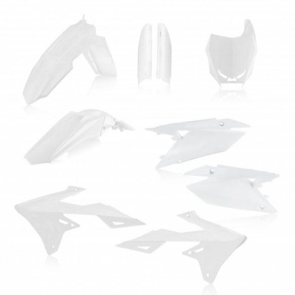 Acerbis teljes idomszett -  SUZUKI RMZ 450 18/20 + rmz 250 20 - fehér