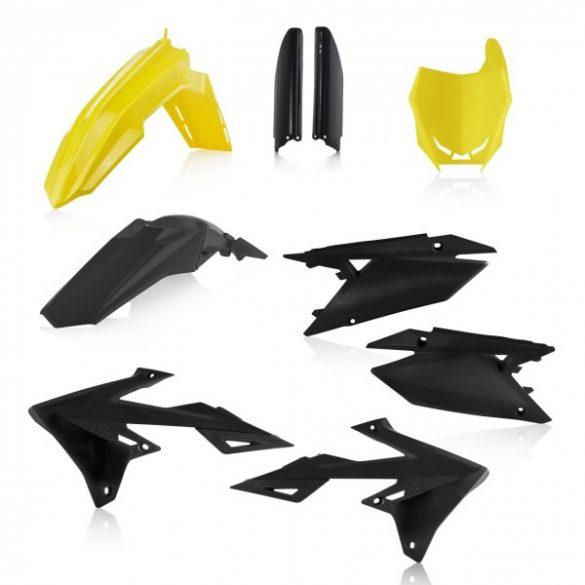 Acerbis teljes idomszett -  SUZUKI RMZ 450 18/20 + rmz 250 20 - sárga/fekete