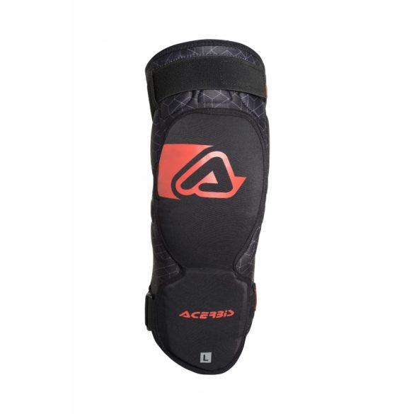 Acerbis térdvédő - X-Knee Soft - fekete/piros