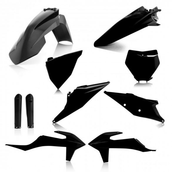 Acerbis teljes idomszett -  KTM SX/SXF 19-21 - fekete