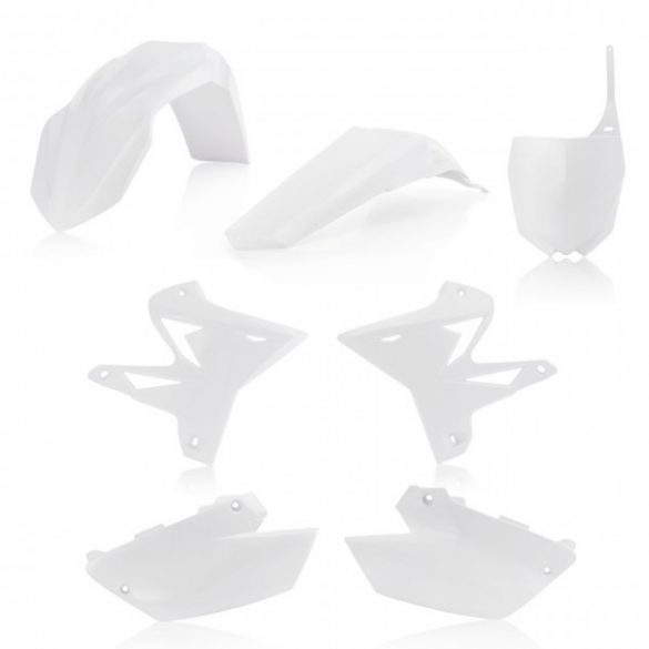 Acerbis idomszett - 5 darabos - YAMAHA YZ125/250 02-14- fehér