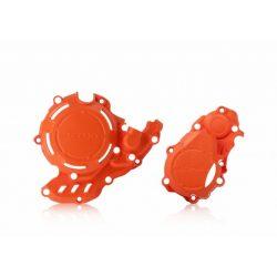 Acerbis motorblokk védő - X-Power - 4 ütemű SXF+ FC 16/20 - KTM -HUSKY 250/350 - narancs