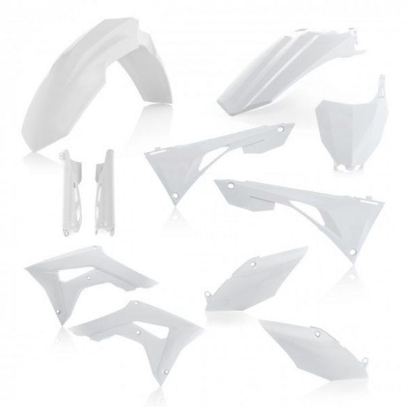 Acerbis teljes idomszett -  HONDA CRF450 + CRF250 19-20 7 darab - fehér