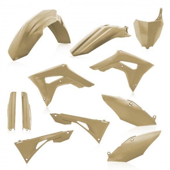Acerbis teljes idomszett -  HONDA CRF450 + CRF250 19-20 7 darab - homokszínű