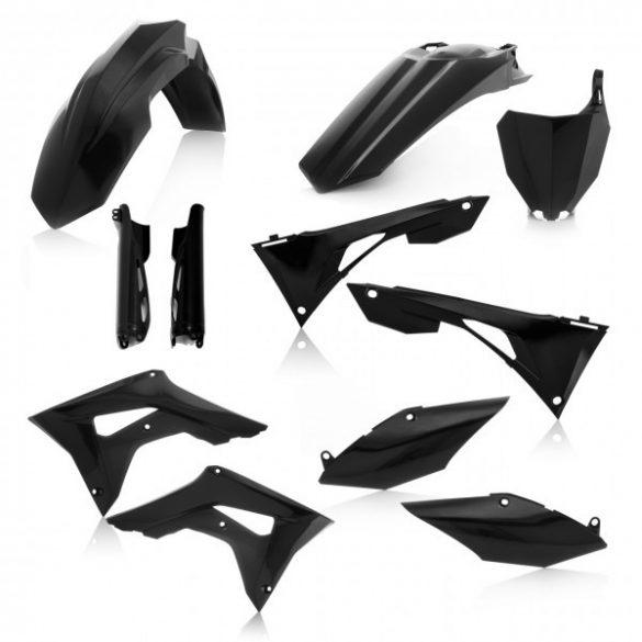 Acerbis teljes idomszett -  HONDA CRF450 + CRF250 19-20 7 darab - fekete