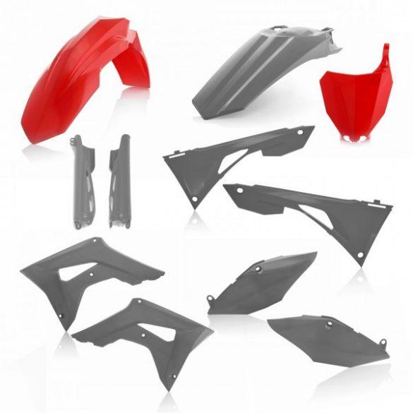 Acerbis teljes idomszett -  HONDA CRF450 + CRF250 19-20 7 darab - piros/szürke
