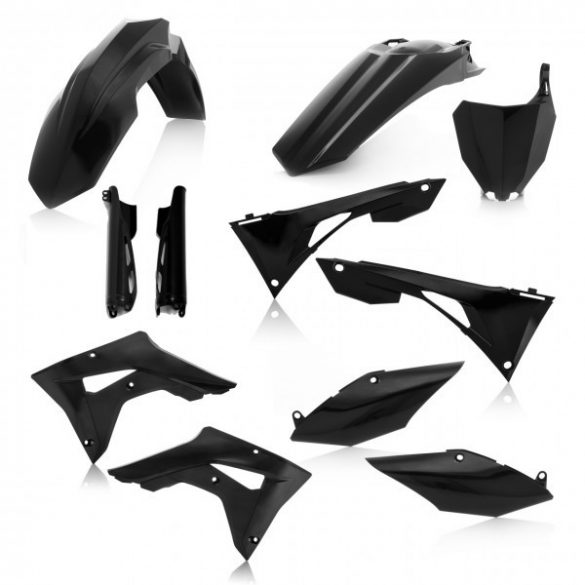 Acerbis teljes idomszett -  HONDA CRF250X + CRF450X 19-20 7 darab - fekete