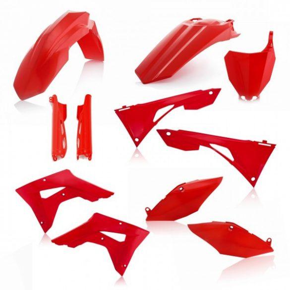 Acerbis teljes idomszett -  HONDA CRF250X + CRF450X 19-20 - 7 darab - piros