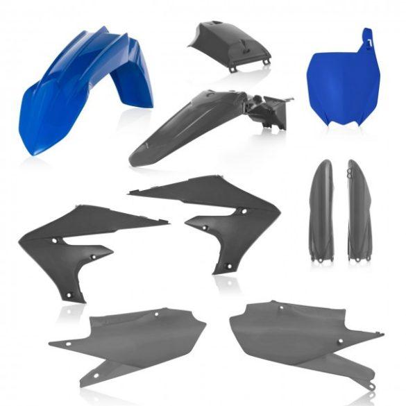Acerbis teljes idomszett -  YAMAHA YZF 250 19-21 + 450 18/21 7 darab - kék/szürke