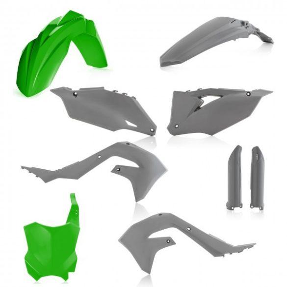 Acerbis teljes idomszett -  KAWASAKI KXF 450 19-20 - zöld/szürke