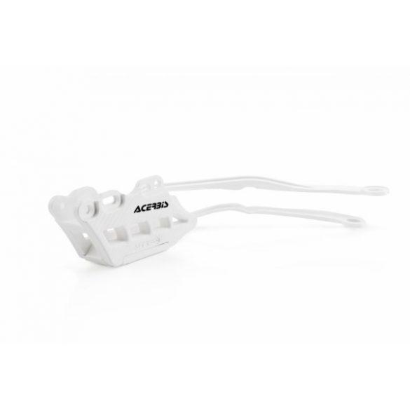 Acerbis hátsó láncvezető  + Acerbis láncvezető -  CRF 450 19-20 + CRF 250 2020 - fehér