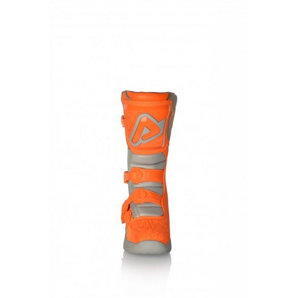 Acerbis gyerek cross csizma - X-Team Junior - narancs/szürke