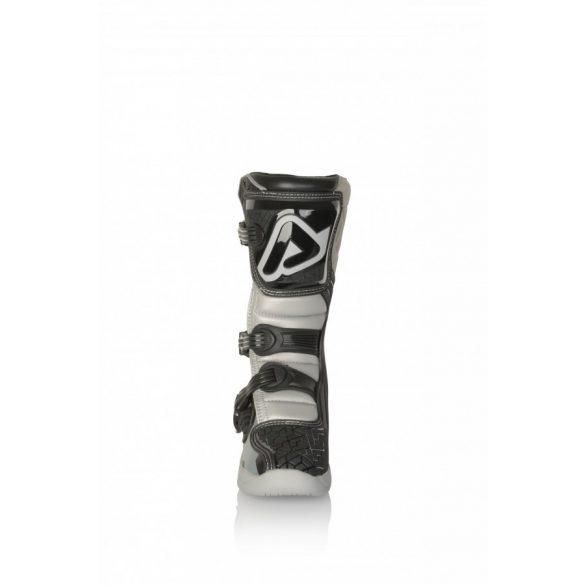 Acerbis gyerek cross csizma - X-Team Junior - fekete/szürke