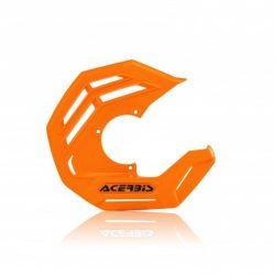 Acerbis első féktárcsa védő - X-Future - narancs