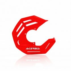 Acerbis első féktárcsa védő - X-Future - piros