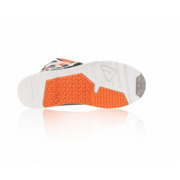 Acerbis cross csizma - X-Race - narancs/szürke