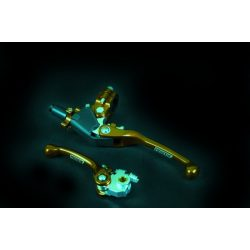 Prostuf visszahajlós fékkar -  RM-RMZ-KXF(04-12)-YZ85-YZF(01-07) - arany színű
